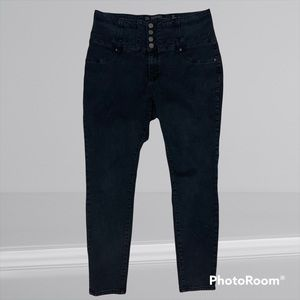 City Chic Harley Corset High Waisted Skinny Leg Jeans 18R